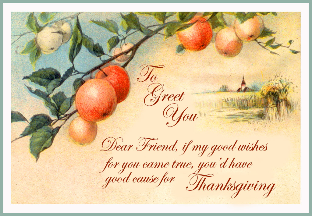 Happy Thanksgiving Cards Free