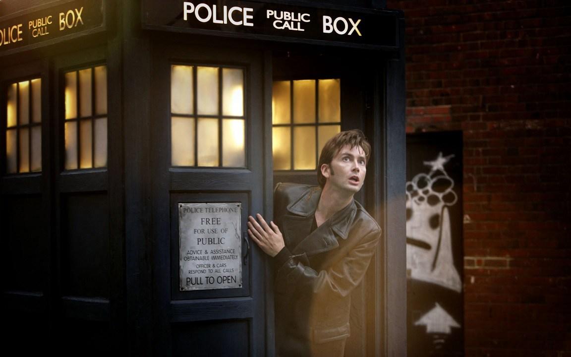 David Tennant TARDIS