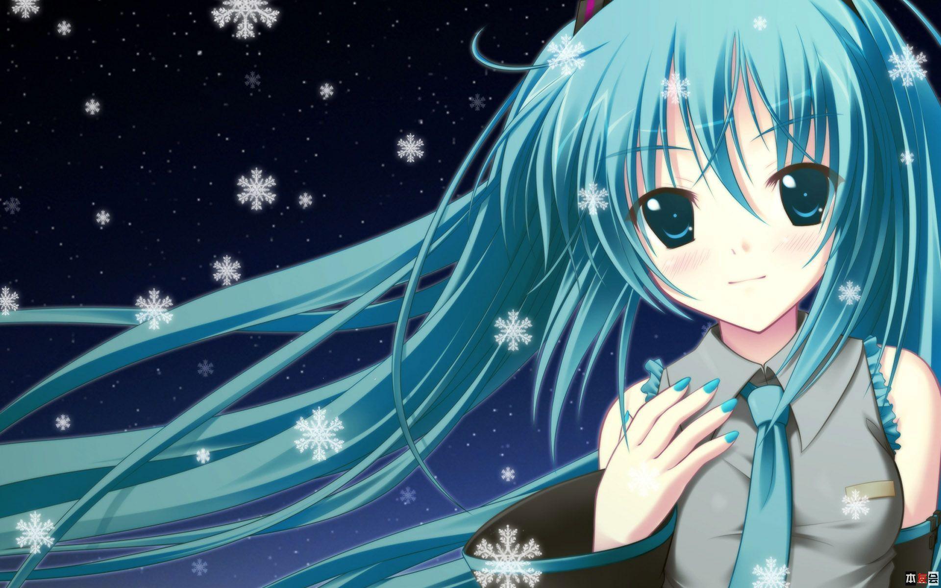 Pretty Anime Girl HD