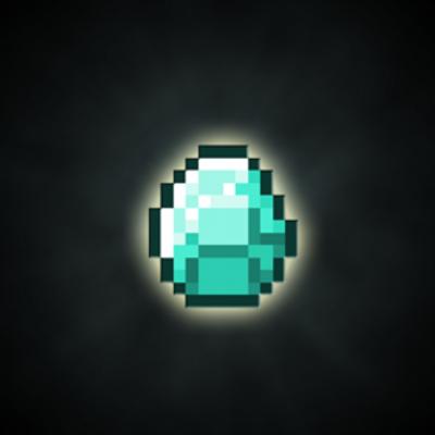 Minecraft Diamond Logo