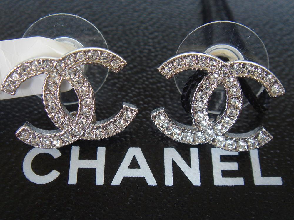 Coco Chanel Logo Earrings