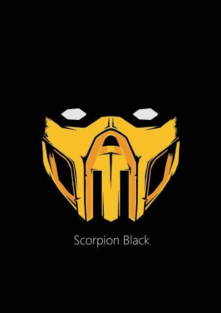 Mortal Kombat Scorpion Logo