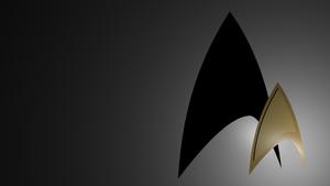 Star Trek Badge Wallpaper