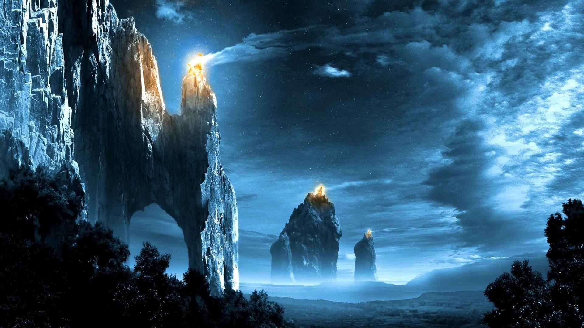 Lord of the Rings Landscape Wallpaper
