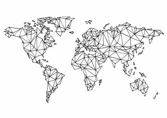 Laptop Wallpaper Map