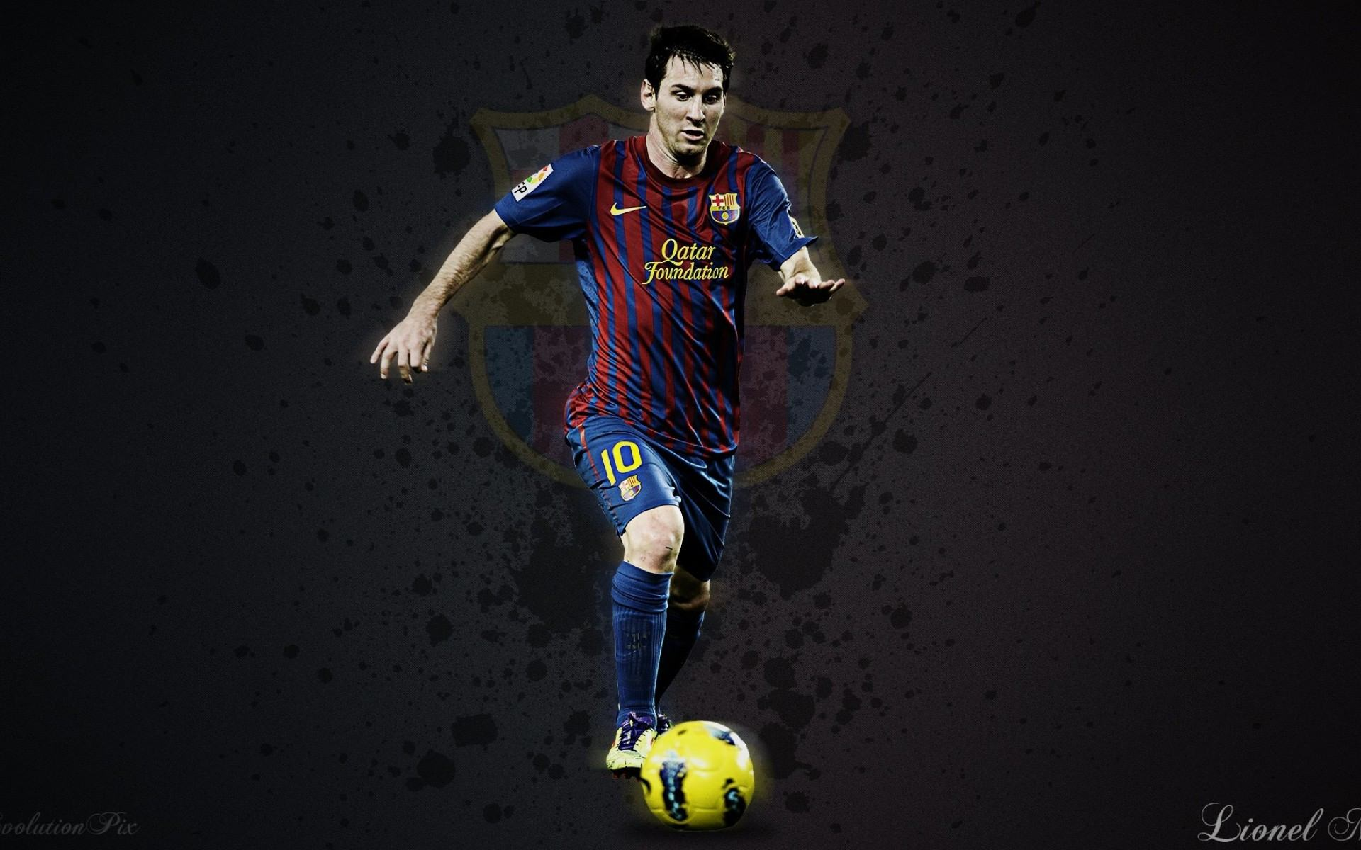 Lionel Messi Desktop Wallpaper