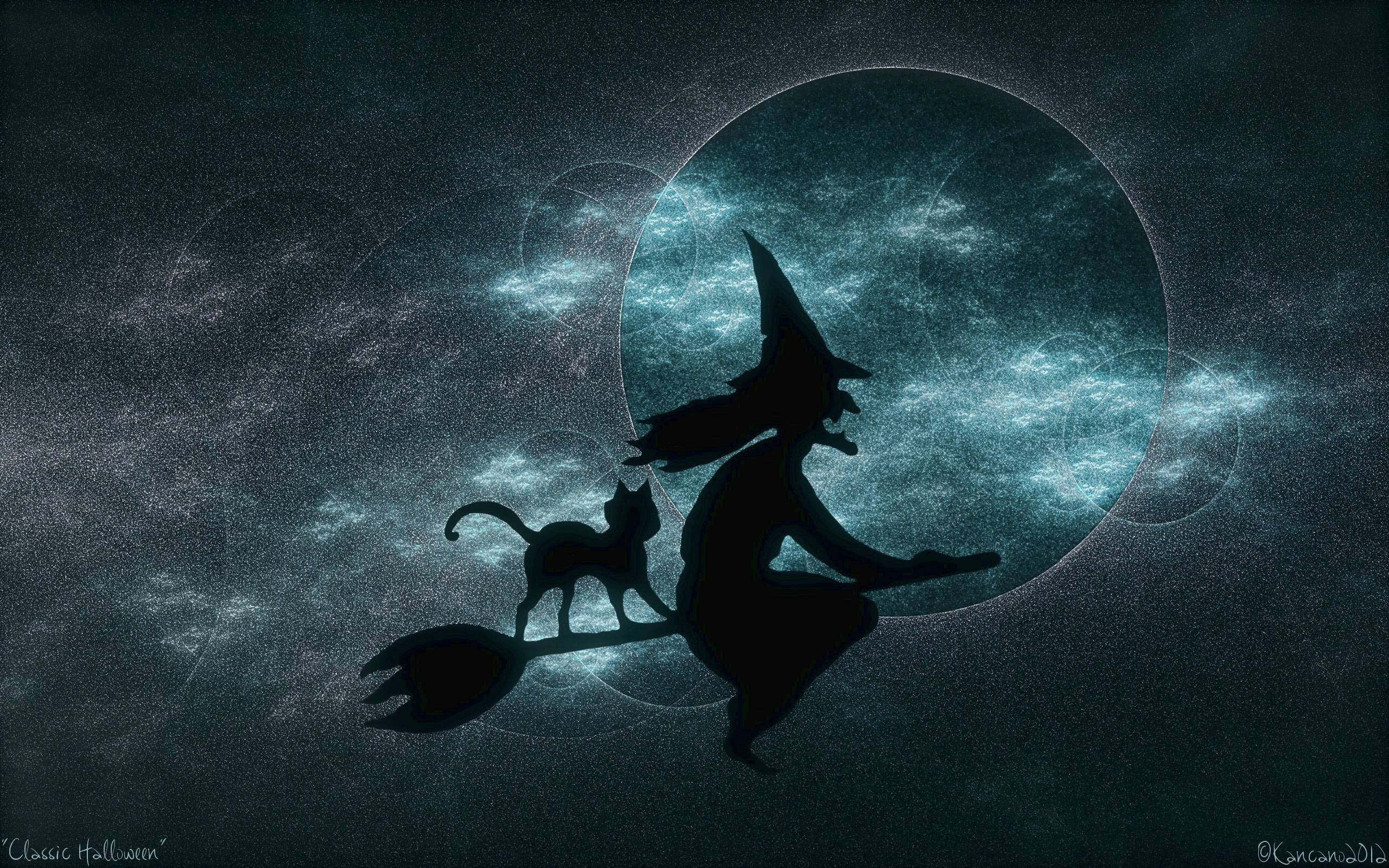 Halloween Witch Desktop
