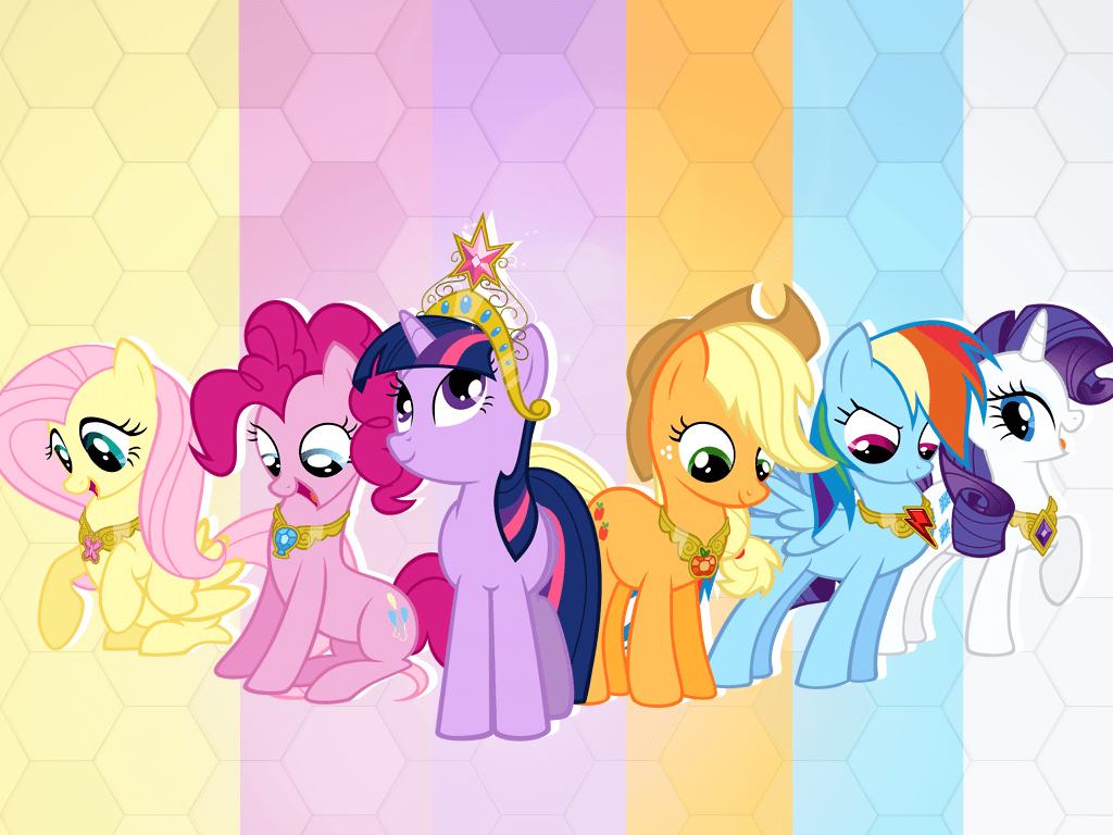 My Little Ponies Wallpaper
