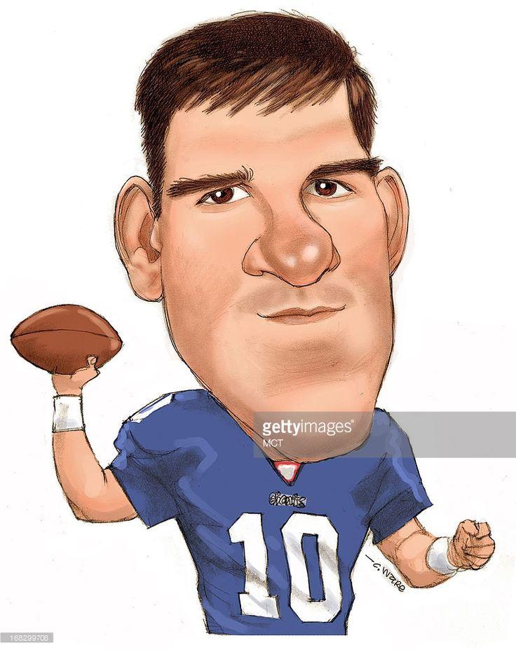 Eli Manning Cartoon