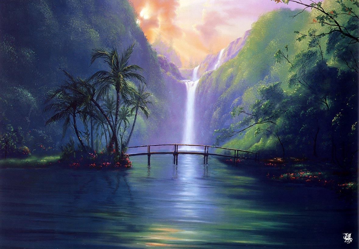 Fiji Sunset Wallpaper