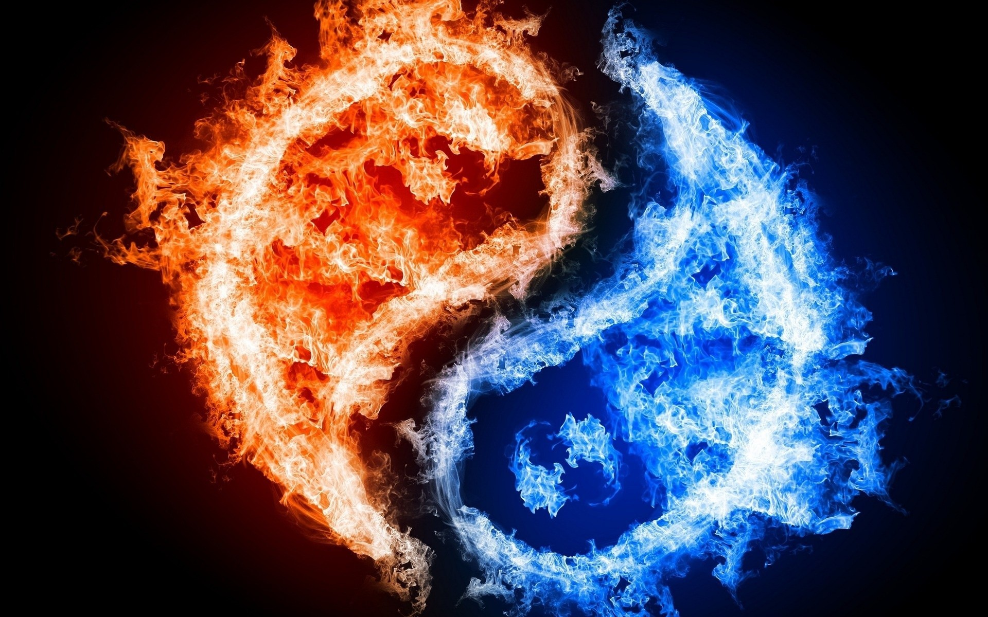 Fire and Ice Graphics