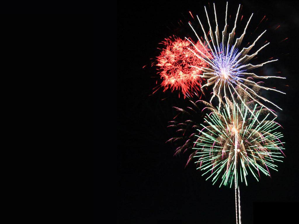 Free Fireworks Wallpaper