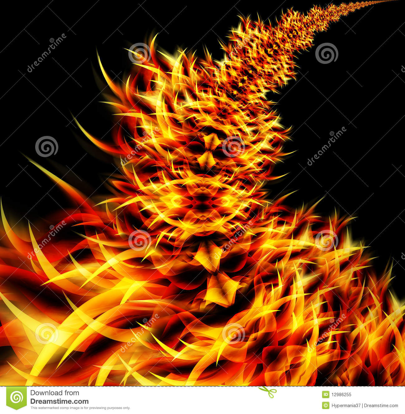 Abstract Flames