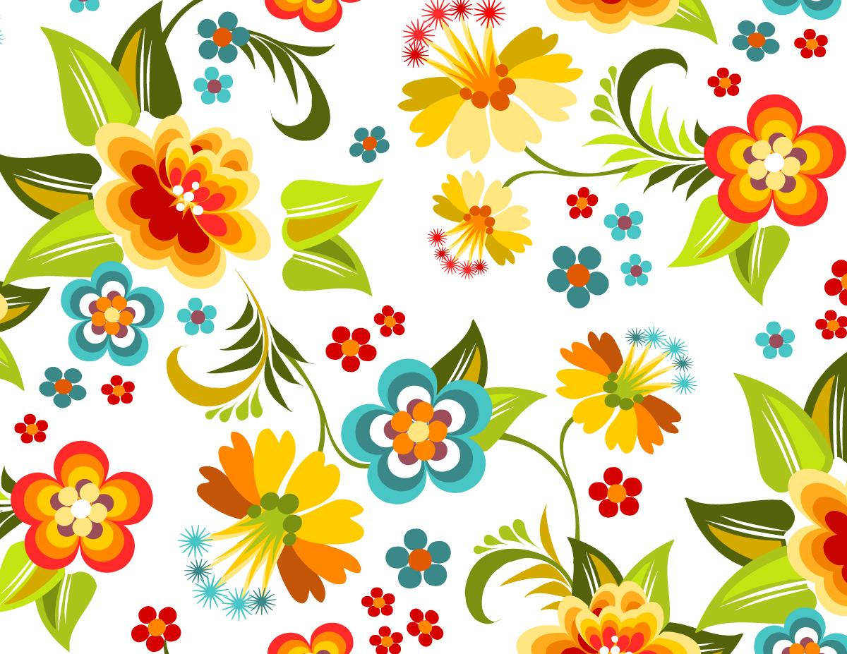 Graphic Design Flower Patterns