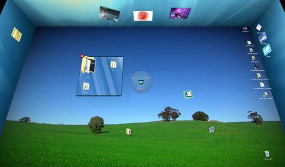 Windows 7 3D Desktop Organizer