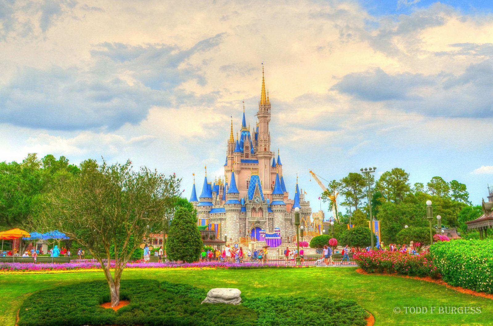 Disney World Castle Screensaver