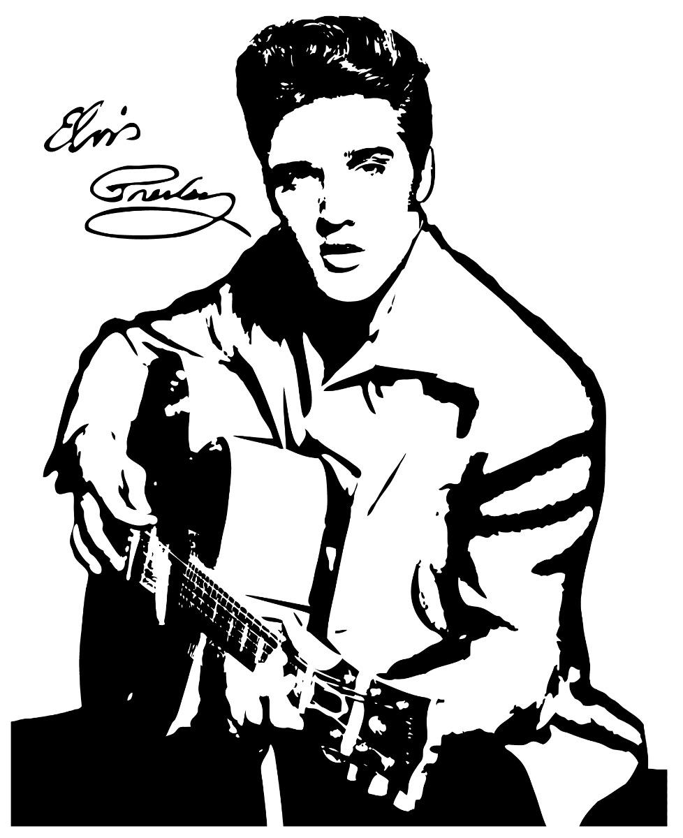 Free Printable Elvis