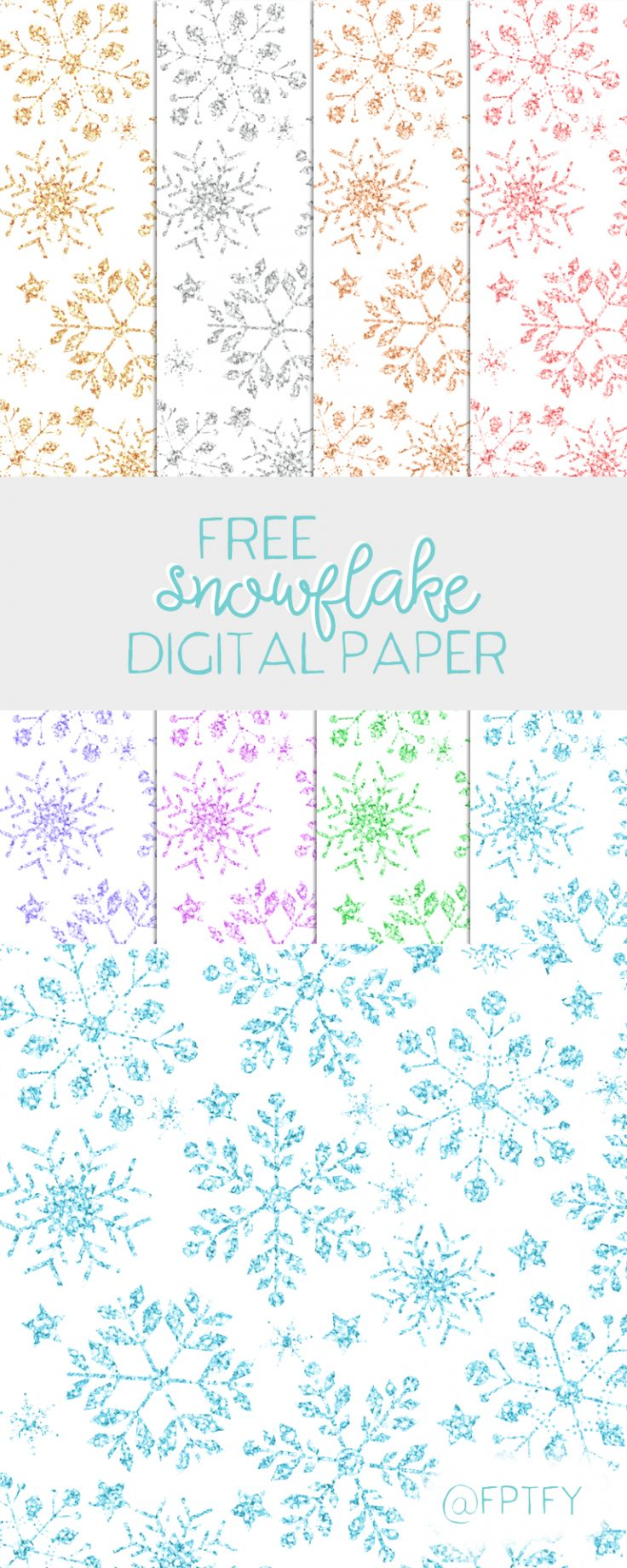 Free Winter Paper Backgrounds
