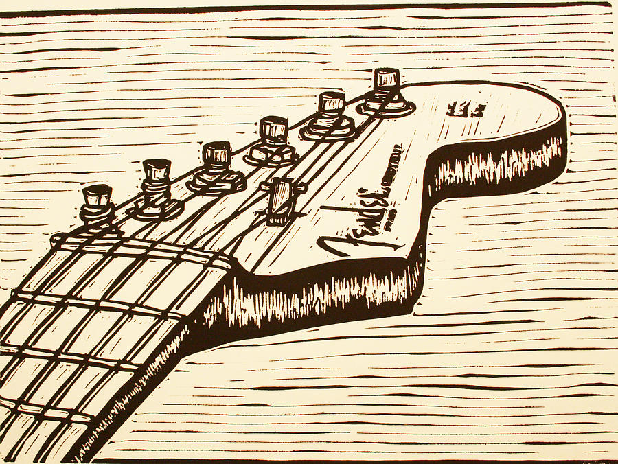 Fender Stratocaster Drawing