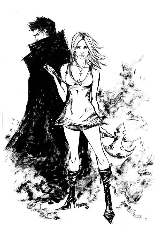 Buffy The Vampire Slayer Artwork