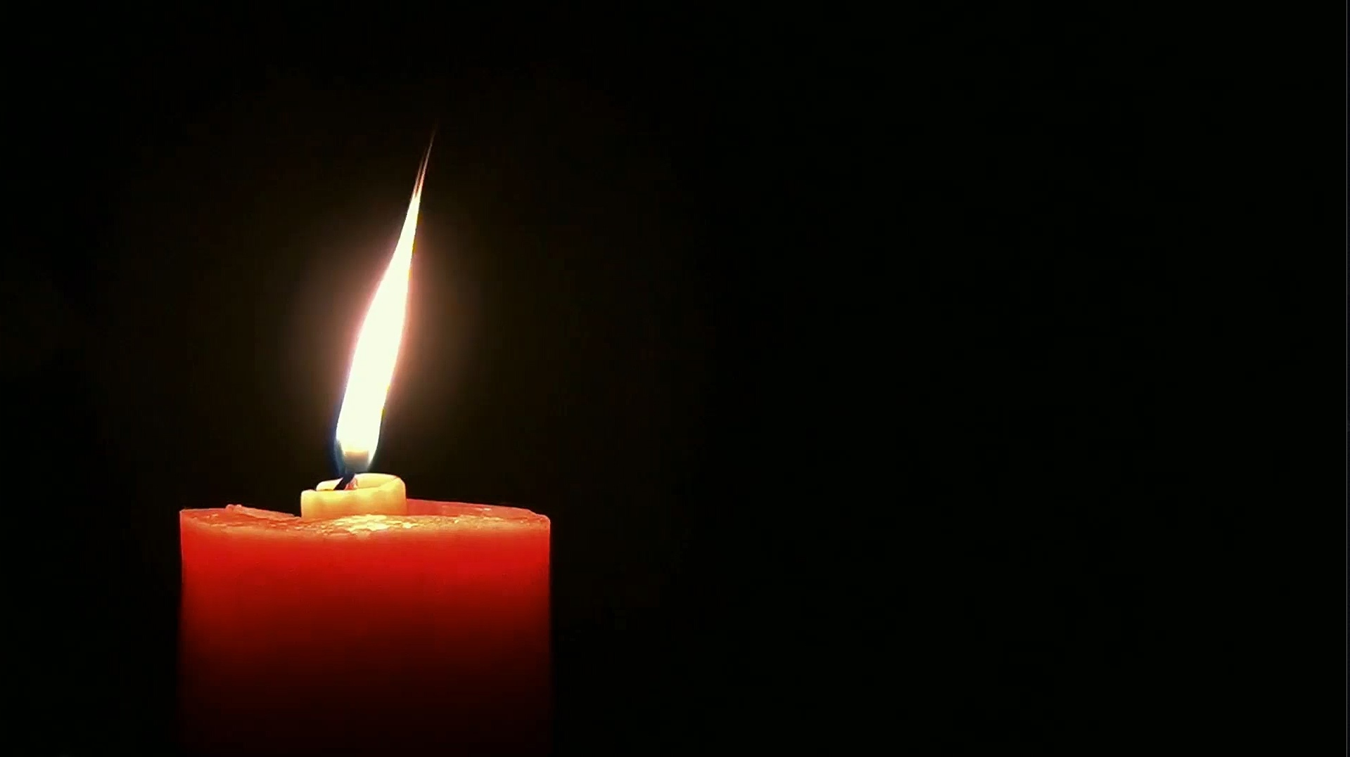 Candle Screensaver
