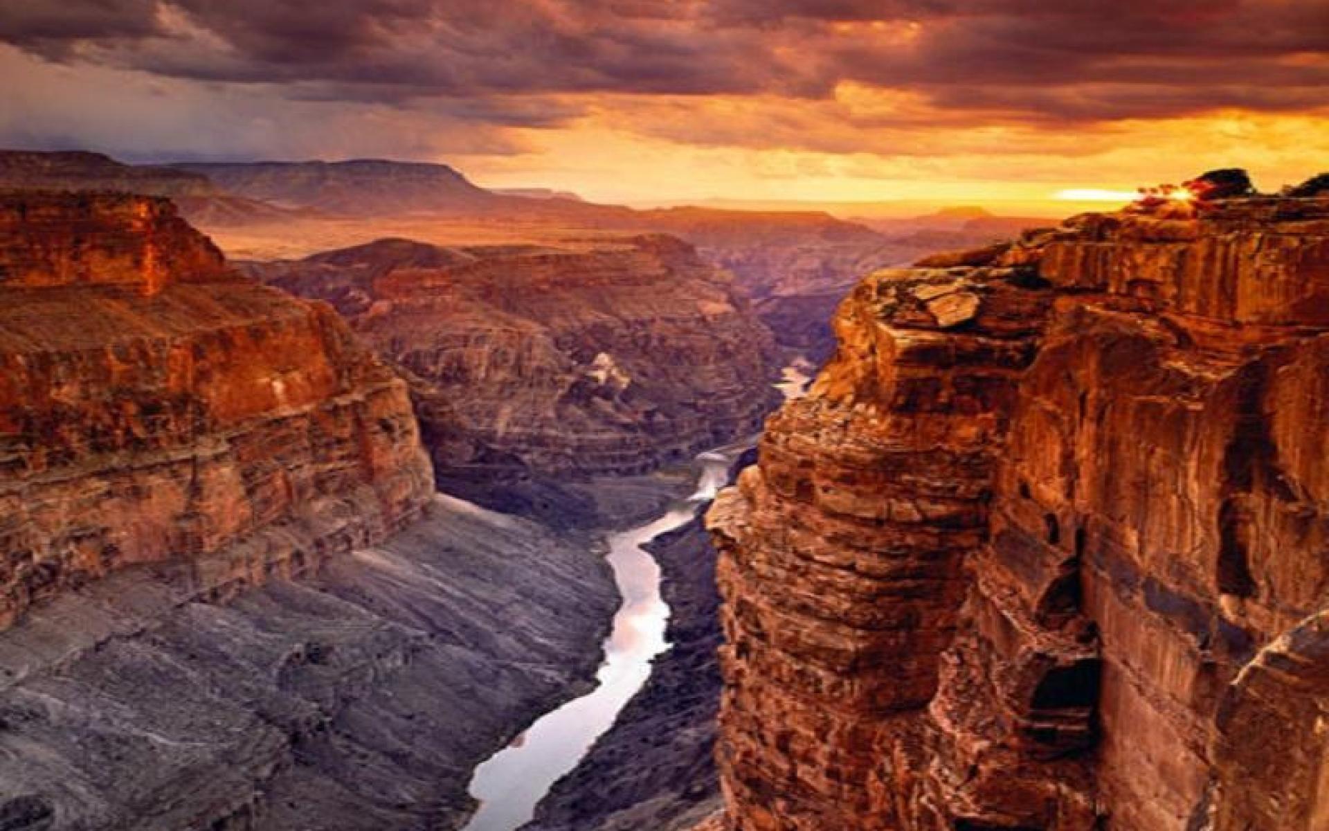 Canyon Background
