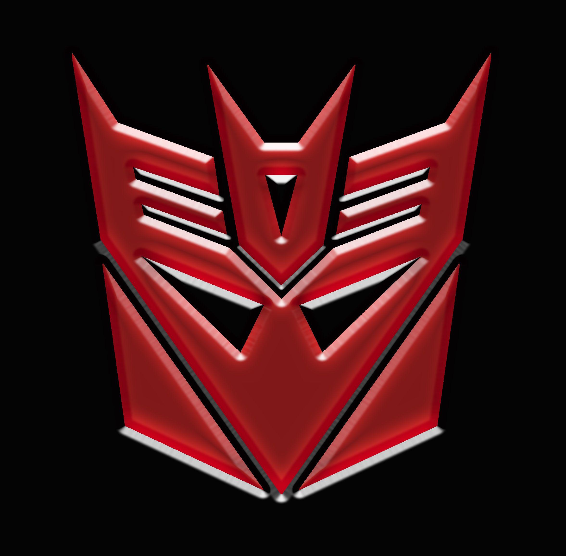 Red Decepticon Logo