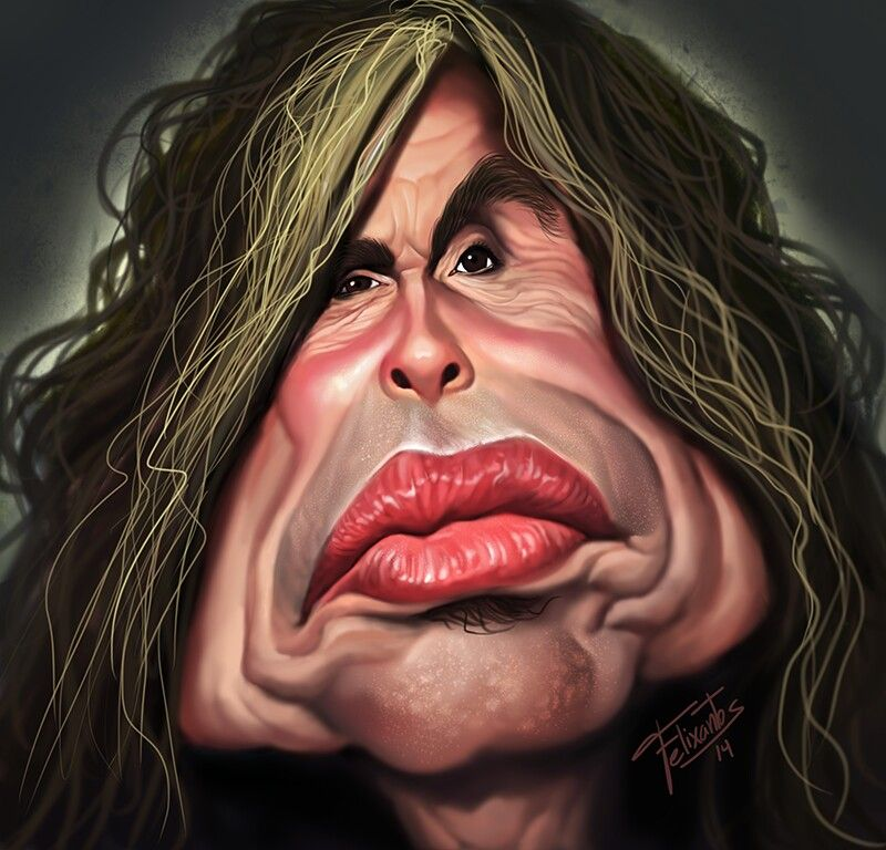 Aerosmith Cartoon