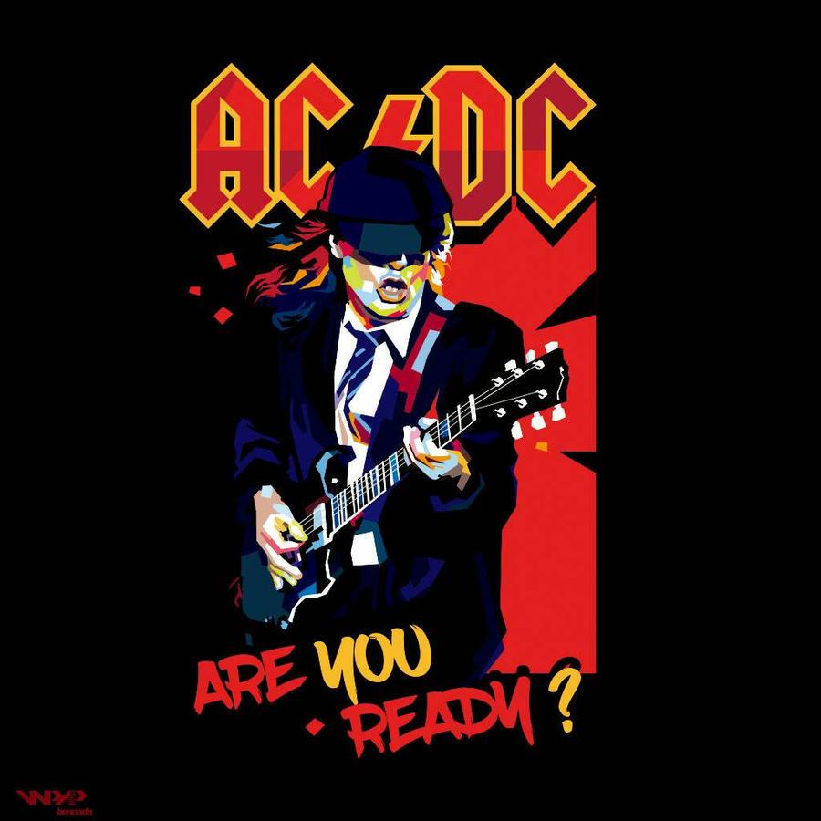 AC DC Art