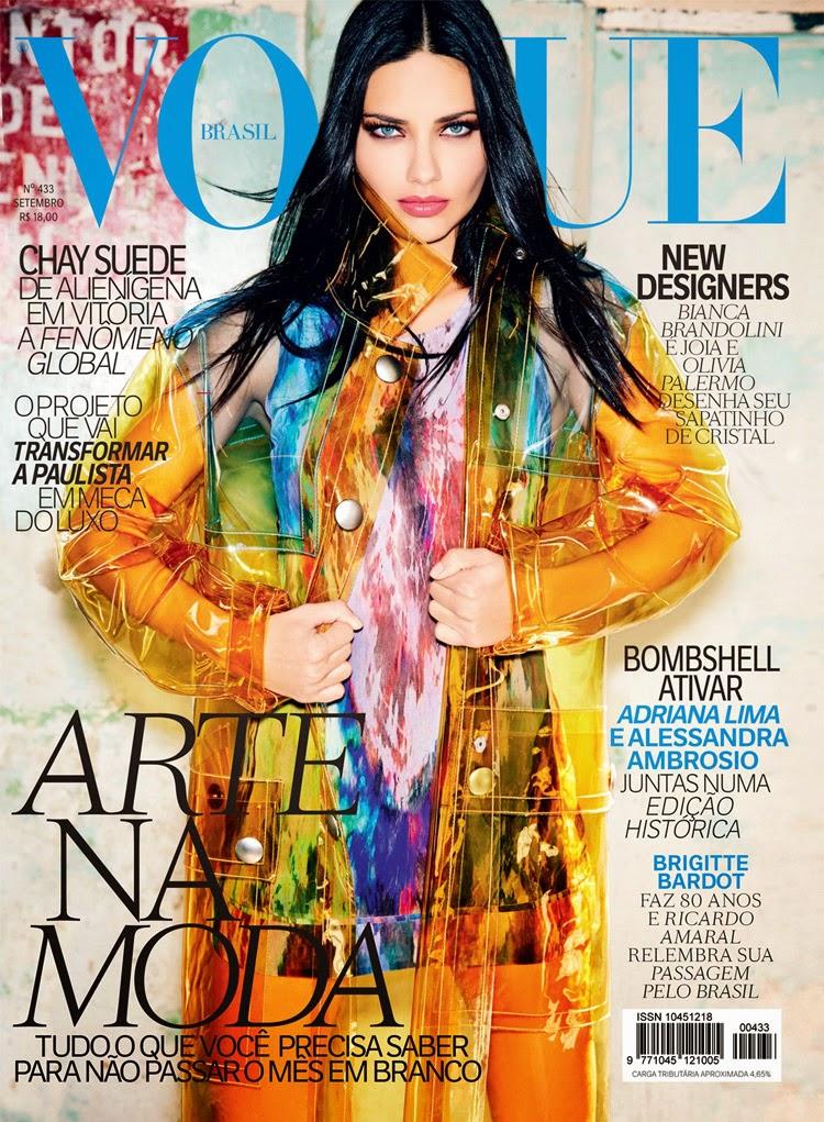 Adriana Lima Cover