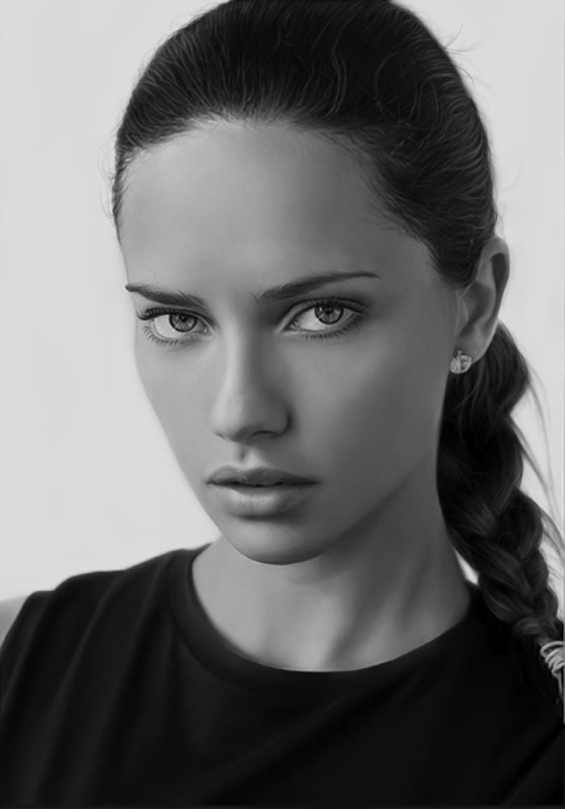 Adriana Lima Portrait