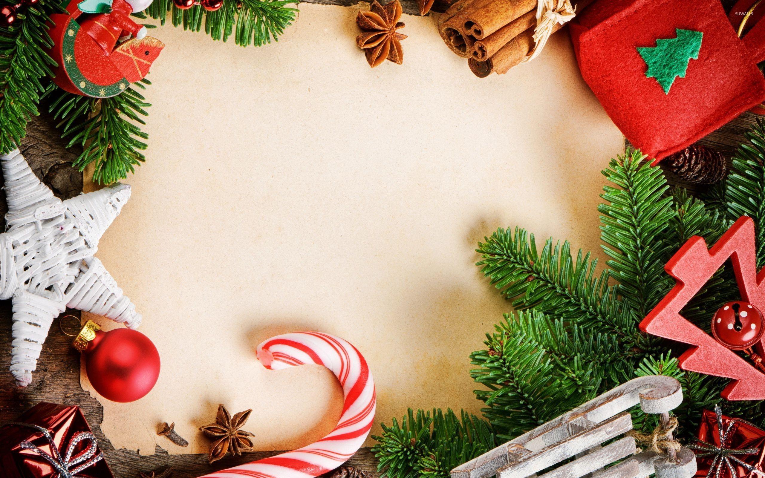 Christmas Decor Wallpaper