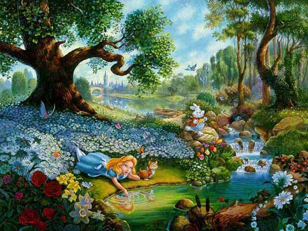 Alice in Wonderland Screensavers