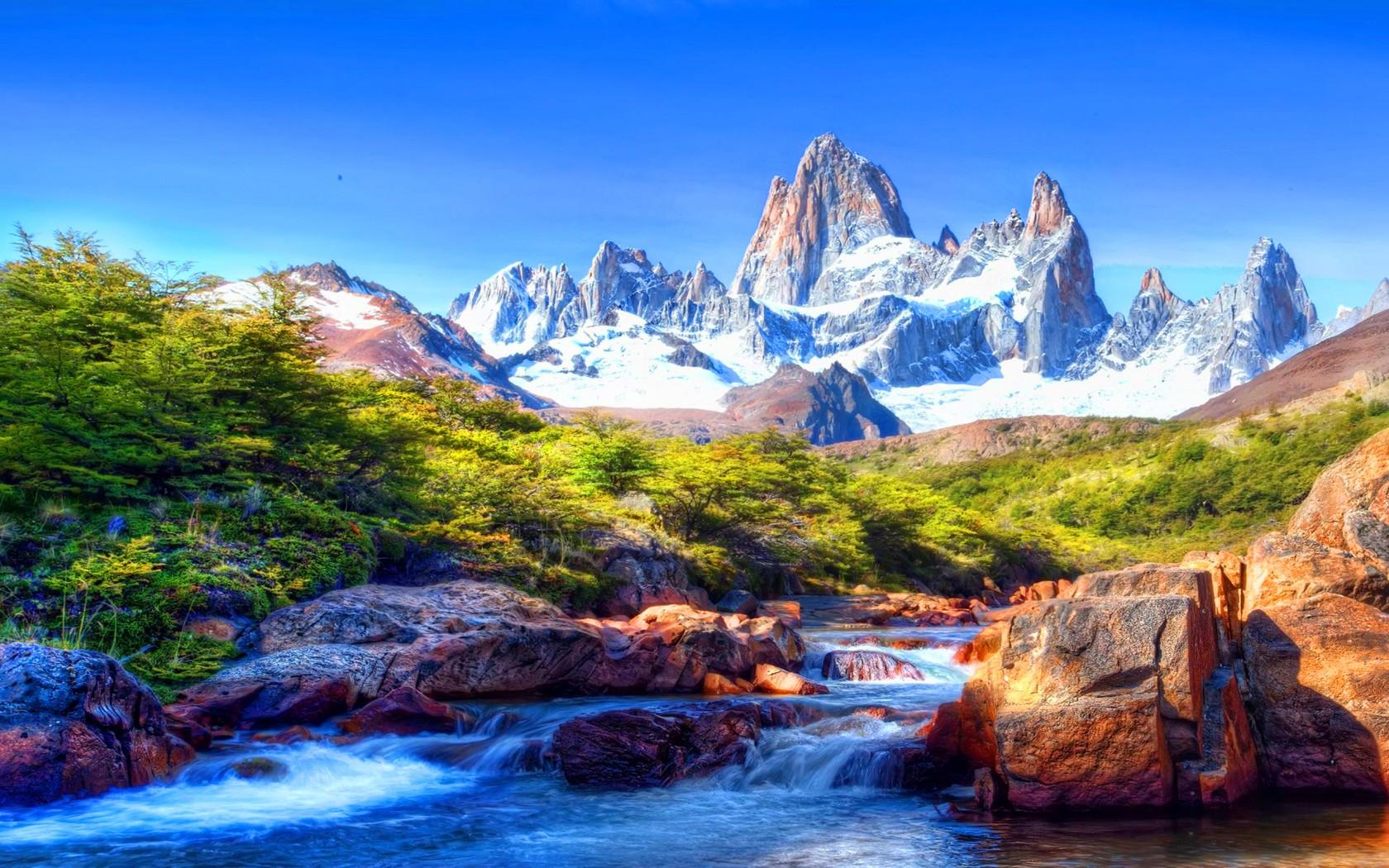 Beautiful Mountain Scenery Landscape