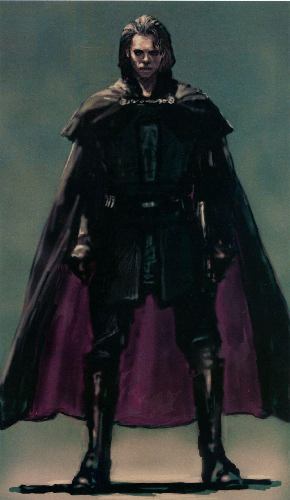 Anakin Skywalker Concept Art