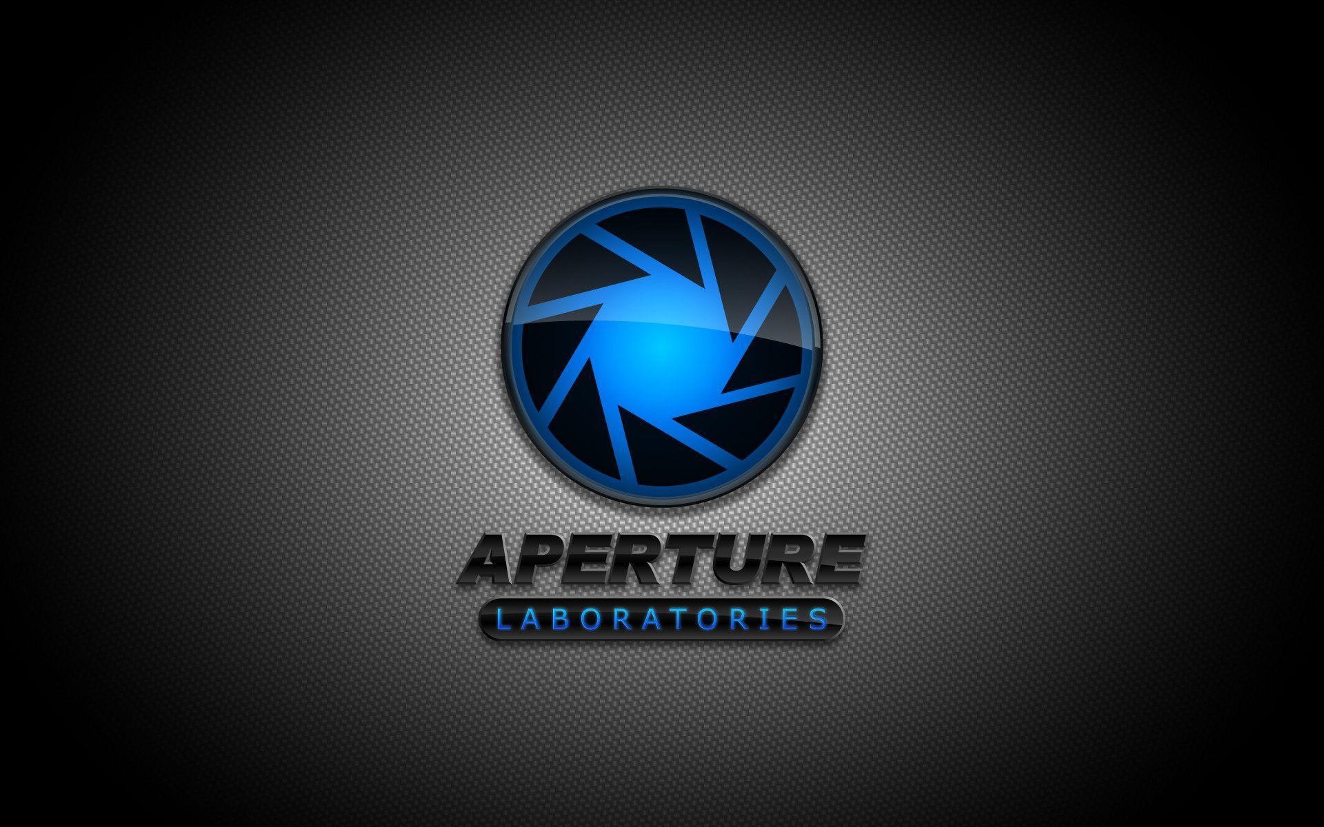 Aperture Science Logo Wallpaper