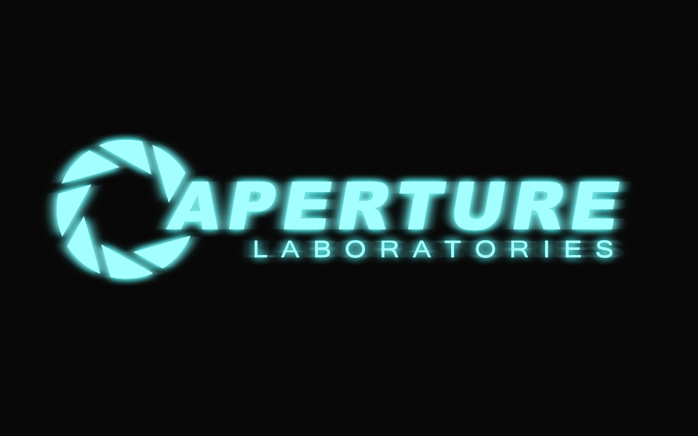 Aperture Science Signs