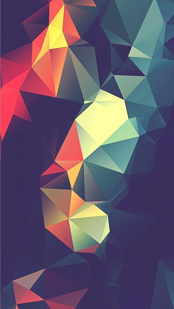 Abstract Phone Background
