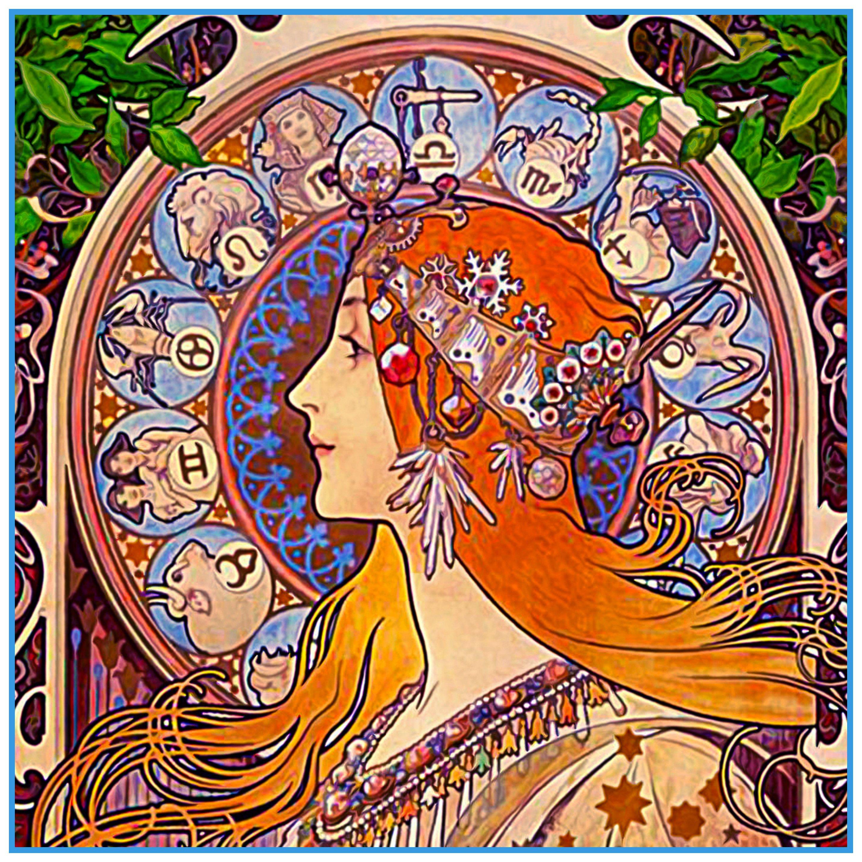 Zodiac Alphonse Mucha