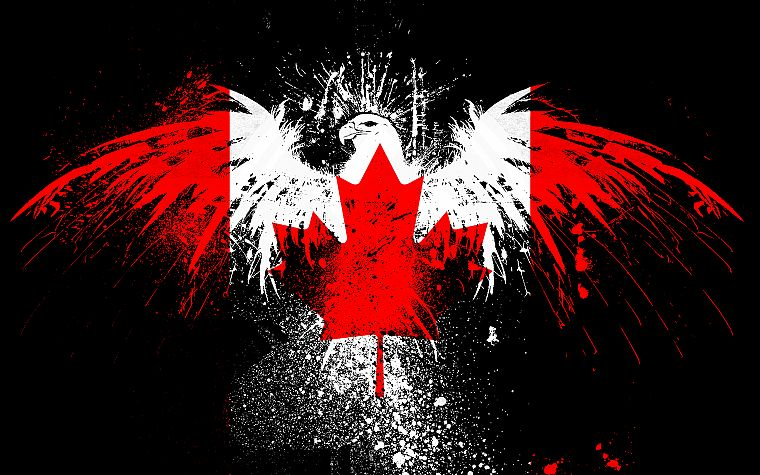 Cool Canada Flag
