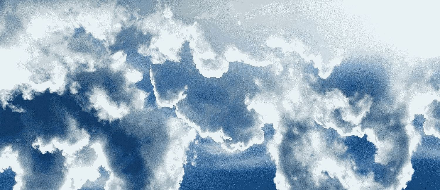 Moving Clouds Background
