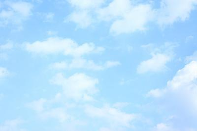 Blue Background with Clouds