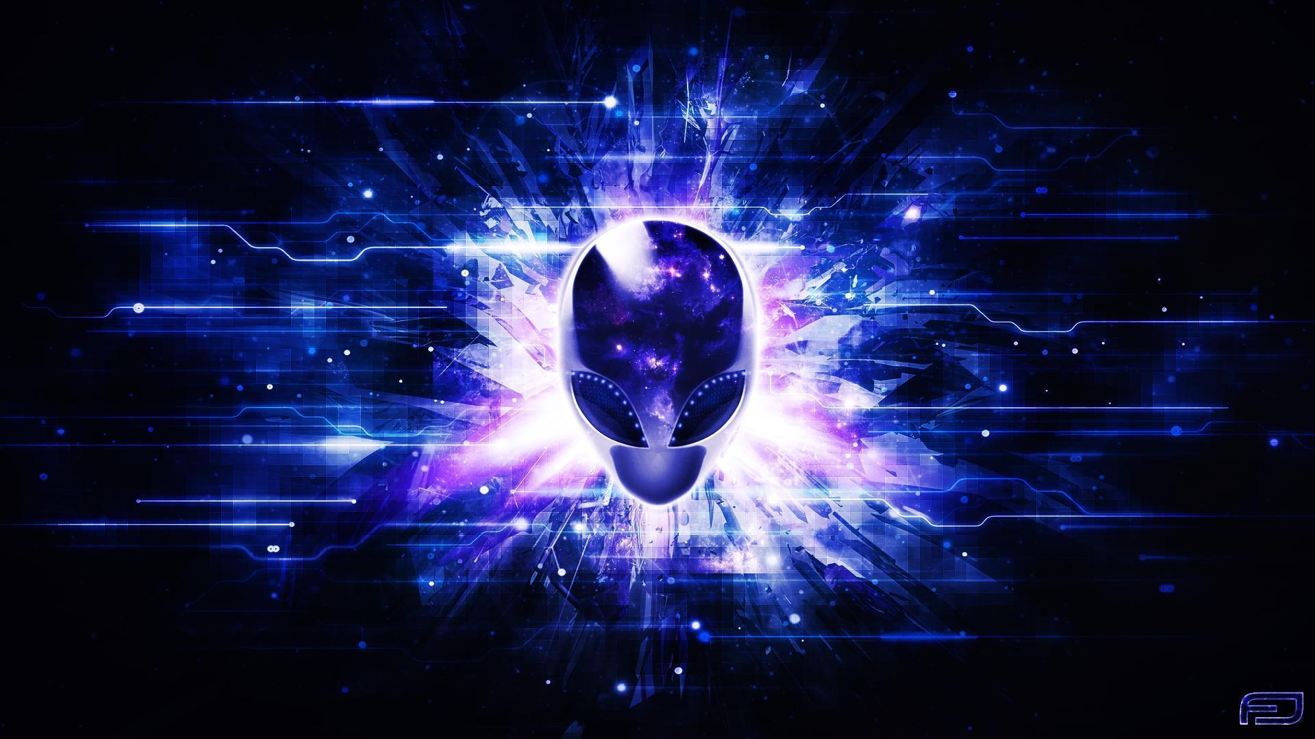Purple Alienware
