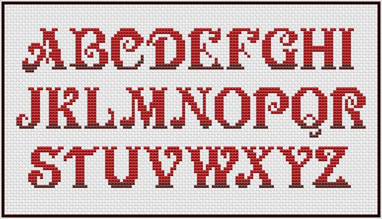 Free Alphabet Patterns