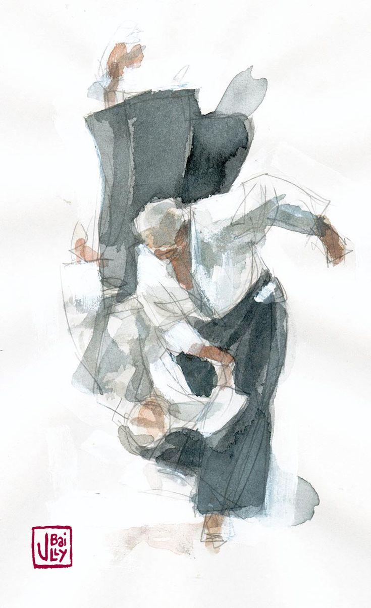 Aikido Drawings