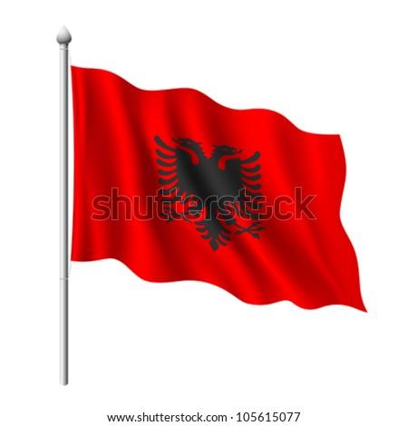 Albanian Flag Design