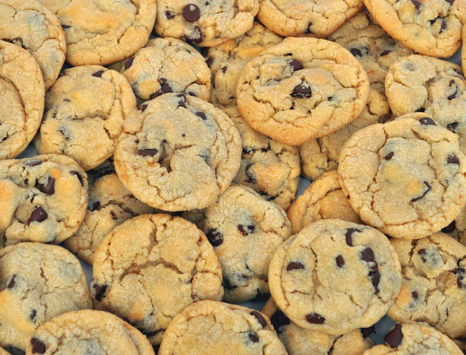 Chocolate Chip Cookie Wallpaper