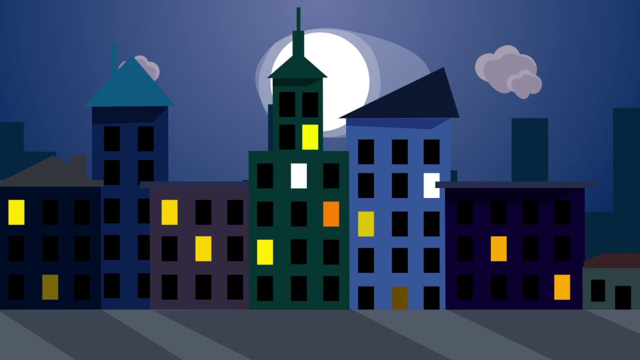 2D Cartoon City