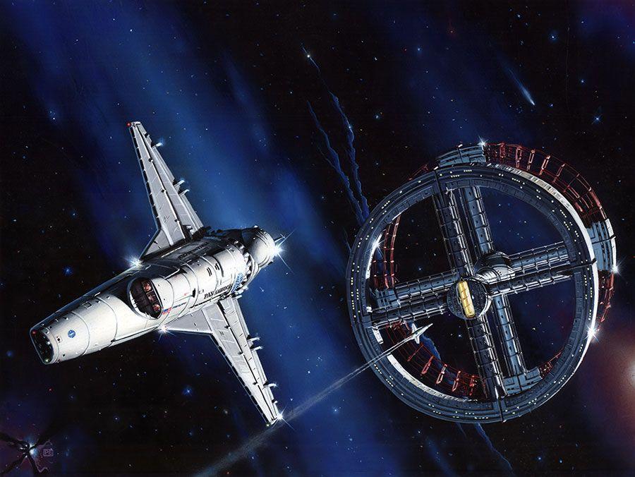 2001 Space Odyssey Ship