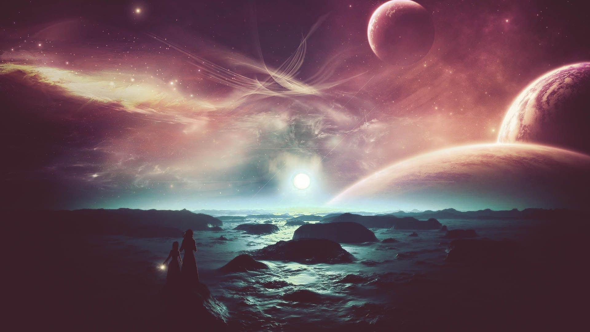 Alien Planet Sky